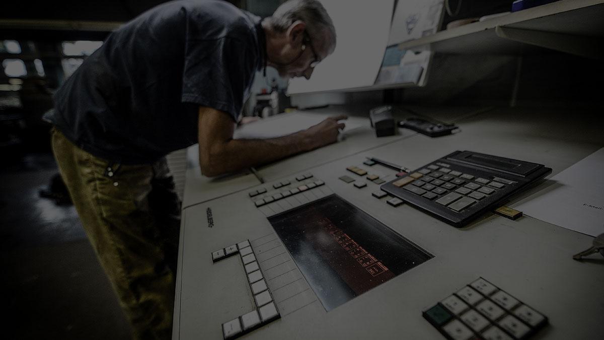 Printing und Finishing bei Grosche